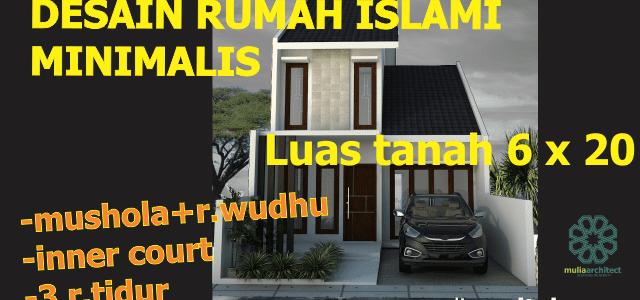 Desain Rumah Minimalis Islami