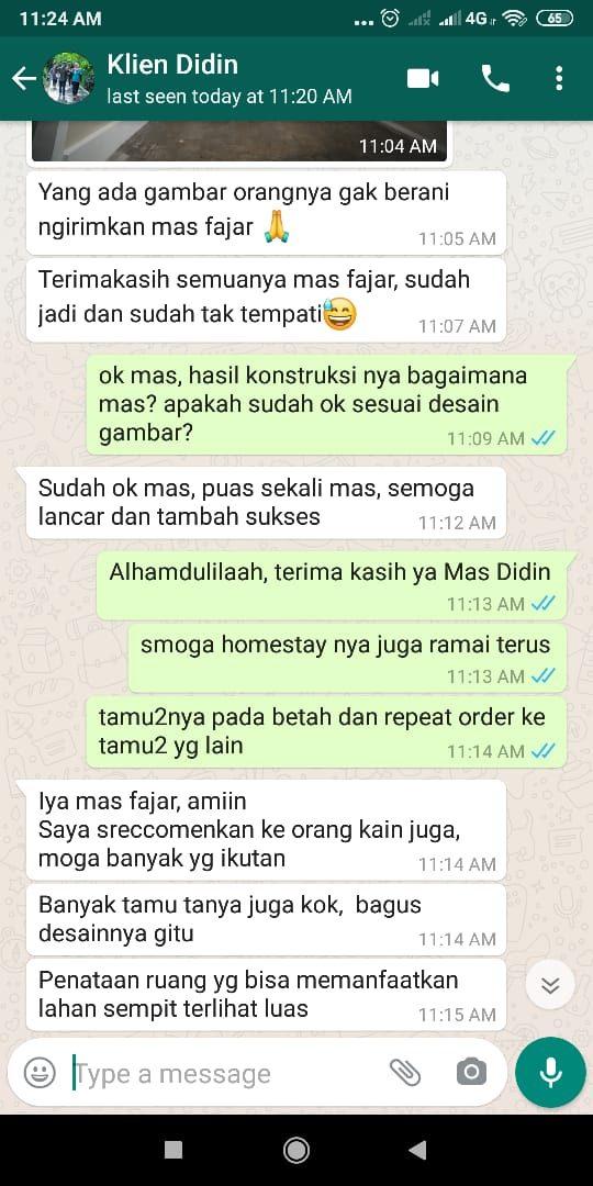 testimoni klien MA Didin